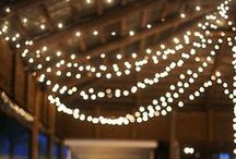 Wedding Lighting / Lighting helps create the ambiance of your reception - don't leave it to the venue!