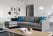 Sofas / We offer over 150 sofa combinations in a variety of styles and materials.  No matter what your taste you'll find one you like here