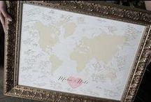 Wedding Guest Book Alternatives / Wedding Guest Book Alternatives, Wedding Guest book map, Wedding map, Signed wedding map, Wedding Guest Book Ideas, each custom designed to fit your wedding