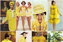 BE INSPIRED! Yellow. / yellow, retro, vintage, inspirations, fashion