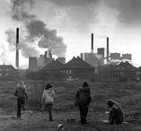 Heute & Morgen / Wie sah es im Ruhrgebiet denn früher aus? Stehen die alten Fachwerkhäuser und Industriefabriken noch? Wo finde ich diese und wie sehen sie jetzt aus?