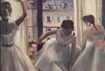 Ballet in artworks