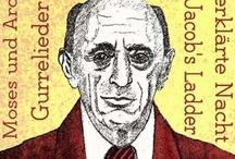 Schoenberg / Arnold Schoenberg, composer, painter, writer.
