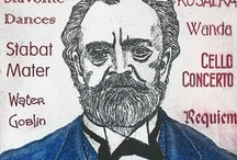 """Dvorak / Antonin Dvorak, the best known Czech composer, is best known for his """"From the New World Symphony"""" which was commissioned by the New York Philharmonic during his 3 year stay in America."""