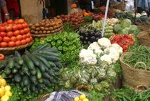 Tetuán and the North of Morocco / Conjunto de imágenes, colores, sabores y texturas que existen en Tetuán y su región, contexto de Blanco Riad, hotel en Tetuán (Marruecos)