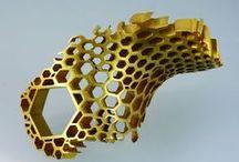 Modern art jewelry