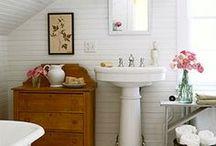 Kylpyhuoneessa