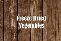 Freeze Dried Vegetables / Veg-Out!  |  www.MREdepot.com