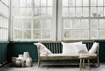 interiors / Rustic, relaxed and pretty. Clever ideas for dreamy interiors.
