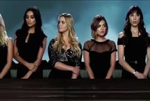 Pretty little liars / Aria Mongomery-Lucy Hale;Hanna Marin-Ashley Benson;Spencer Hastings-Troian Bellisario;Emily Fields-Shay Mitchell;Alison DiLaurentis-Sasha Pieterse