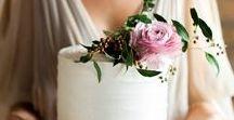Wedding Cakes / Wedding Cake Ideas including naked cakes, fresh flowers, cake toppers, and cake display inspiration!