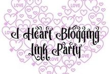 I Heart Blogging Link Party