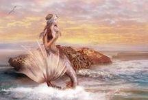 """Sellők /Mermaid/ / """"Lent a tenger mélyén él a vizi király, kinek tizenhárom szépséges lánya van, de közöttük is a legszebb a legkisebb: Marina. . . """" Így kezdődik a mese a csodaszép sellő lányról."""