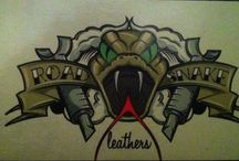 Leerwerk Roadsnake Leathers / Mijn leerwerk, op bestelling, en 100% handwerk.