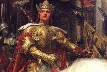 Medieval / Lovagok, varázslók, királyok és királynők. Egy letünt szép korszak, melyben sok mesés és varázslatos dolog történt.