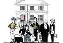 Csengetett Mylord? (You Rang, M'Lord?) / Témája az 1920-as évek brit társadalma, annak tagolódása, szereplői egy brit főúri család és cselédei. Az angol  humor minden sójával és borsával megfűszerezve. Roppantul jó szórakozás azoknak, kik szeretik eme csemegét.