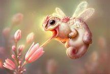 Fantasztikus teremtmények / Az emberi képzeletnek nincs határa, ebből a határtalan képzeletfolyamból születtek ezek a lények, kreatúrák, teremtmények.
