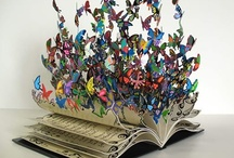 Art - Books and Paper / Paper art and Book art in all forms. Sculpted books, altered books, folded books and art form that involves books and paper.