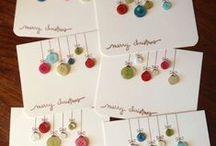 Cards / Opciones de tarjetas para diversas ocasiones, sugerencias variaciones de los materiales   / by Carolina Quesada