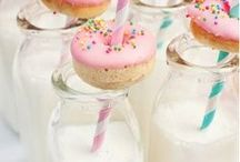 PARTY / Un tablón lleno de ideas para darle un toque especial a todas tus fiestas! (guirnaldas, mesas, aperitivos,deco con globos...)