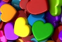 Hearts / Things that make me smile - more than a universal symbol / by Cindy Tripodi