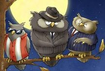 Art - Owls / Art Owls - owl drawings; owl paintings; owl sculpture; owl photos; owl products; owl art;