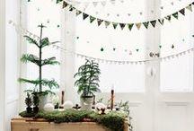 Kerst 2014 - kerstdecoratie & interieurideeën / Met kerst draait alles om sfeer. De warme gloed van kerstlampjes, leuke kerst decoratie en natuurlijk de boom als stralend middelpunt in je kamer. Wij hebben de leukste kerst ideeën voor jouw interieur verzameld!