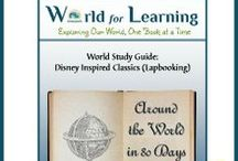 World for Learning / We believe children learn best when they have opportunities to explore and enjoy the world around them.  Join us as we share ideas for adding literature, hands-on, and Disney themed activities to your family's learning adventures.