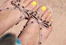 Jellies / Designer jelly flats and sandals