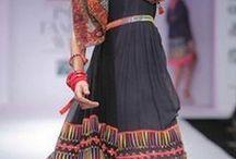 Tanvi Kedia / Ethnic prints and embroidery by Indian designer  Tanvi Kedia