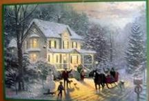 Currier & Ives images / by Helene Levac