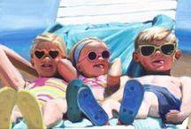 Children in Art / Artwork of children.