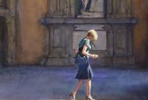 Figurative / Paintings and sculpture in the figurative genre.