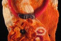 Mi trabajo en lana/ My work / Fieltro, lana