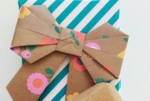 Wrap it Up / Follow for gift wrap ideas, gift cards and inspiration.