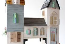 Toy - Dreamy Toy House / Toy houses and toy house furniture, a miniature fantasy land.