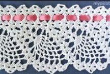 Puntillas crochet / Todo puntillas en crochet