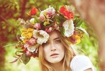 - Inspiration Couronnes de Fleurs - / On aime avoir la tête pleine de fleurs!