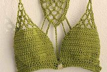 Bikini y Bañadores Crochet / Trajes de baño en Crochet bikinis y bañadores