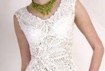 Vestidos y faldas crochet / Un lujo en crochet