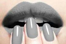 Grey lipstick