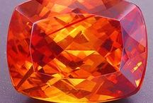 Orange is Never a Bore-ange / It may not rhyme with anything but orange looks darn gorgeous as a gemstone!