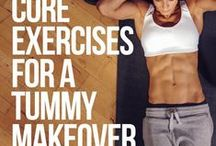 Abs and Core / At home workouts for a flat tummy with defined abs.