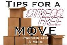Packing and Moving Ideas / by Phyllis Booth