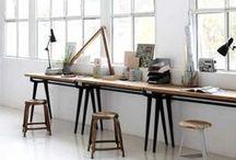 Studio Spaces - TANIKA BLAIR / Home office, work, studio spaces.