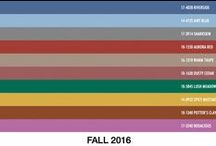Colors: Fall-Winter 2016-2017