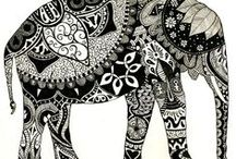 Zentangle and Patterns  / by Hilary Bray
