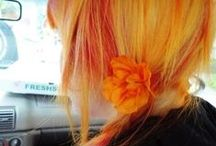 Orange and Yellow Hair / Orange and Yellow Hair