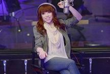 Carly Rae Jepsen / She is one of my favourite singers!!!!!!!!!!!! / by Jocelyn