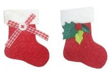 Decorazioni Natalizie in Feltro - Christmas Felt Decorations / decorazioni natalizie in feltro, christmas felt decorations